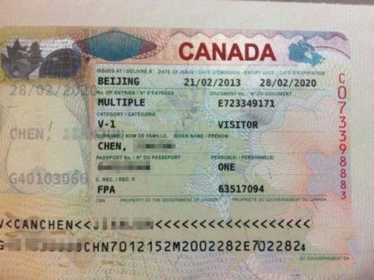 外国人申请加拿大旅游签证(代办在..