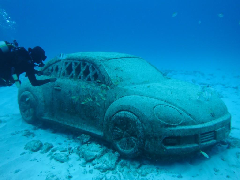 水下雕塑館