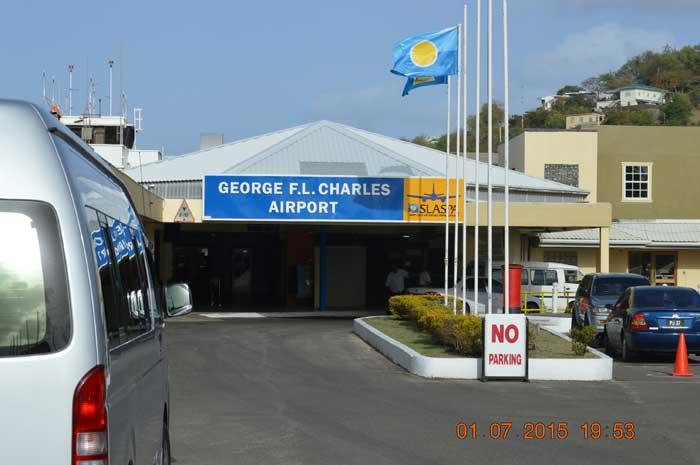聖盧西亞當地機場